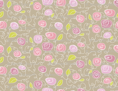 FloralPinkNGreen
