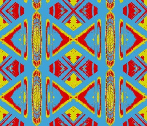 Game Changer fabric by susaninparis on Spoonflower - custom fabric