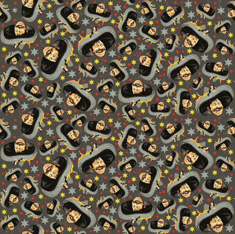 Ay ay ay! fabric by susiprint on Spoonflower - custom fabric