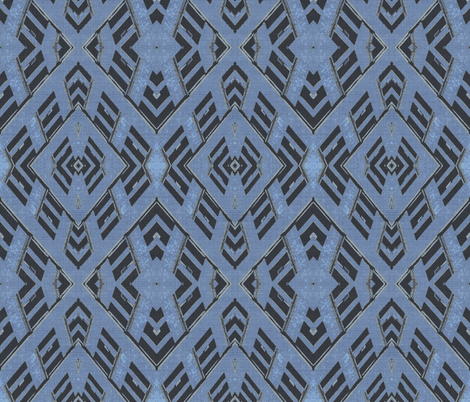 Building Denim fabric by relative_of_otis on Spoonflower - custom fabric