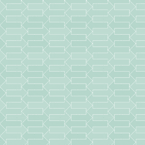 small mint blue arrows fabric by weavingmajor on Spoonflower - custom fabric