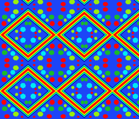 rainbowpolkadots fabric by sharpestudiosdesigns on Spoonflower - custom fabric
