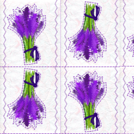 LavenderSpringPattern fabric by debjay on Spoonflower - custom fabric