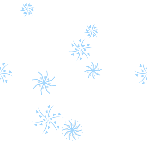 snowflakes baby blue fabric by mojiarts on Spoonflower - custom fabric