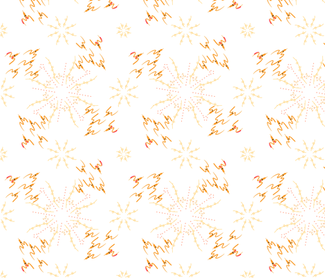circling sun flock fabric by mojiarts on Spoonflower - custom fabric