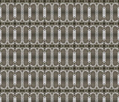 Church ceiling plaid fabric by greennote on Spoonflower - custom fabric