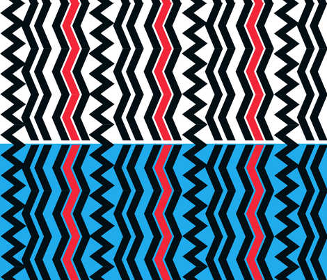 The African Coast fabric by scifiwritir on Spoonflower - custom fabric