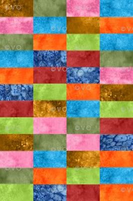 Rectangles in watercolor