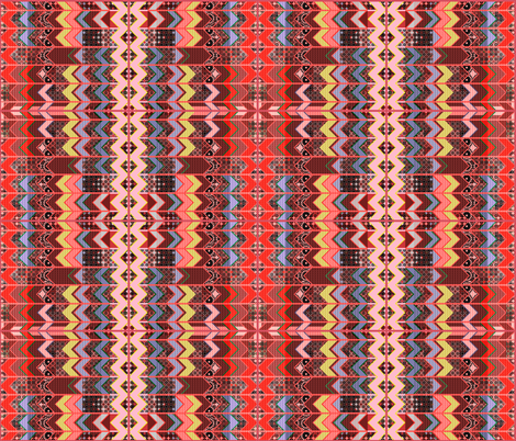 2_cheater quilt in the style of a zig-zag fabric by isabella_asratyan on Spoonflower - custom fabric