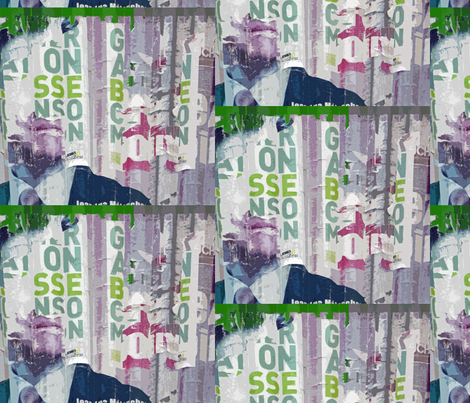 His Chin Has My Vote fabric by susaninparis on Spoonflower - custom fabric