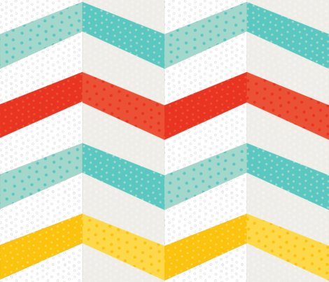 Chevron Cheater fabric by paperstories on Spoonflower - custom fabric