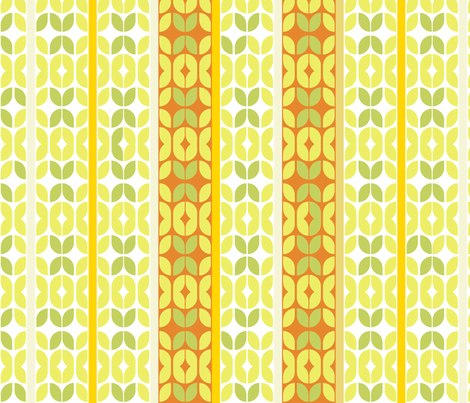 mod_striped-rust-leaves fabric by wren_leyland on Spoonflower - custom fabric
