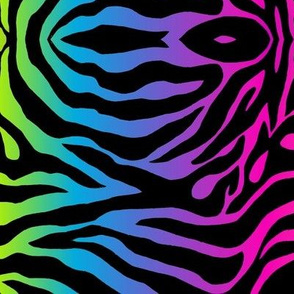 Yambi Zebra Abstract