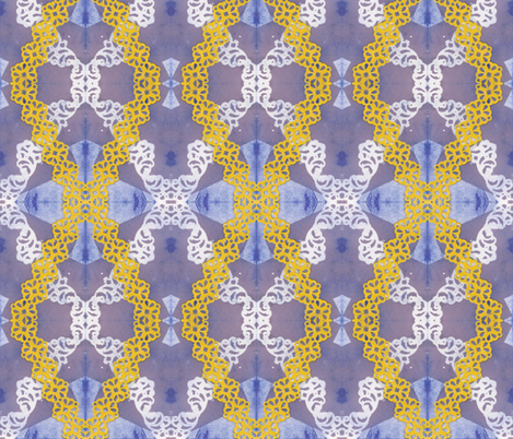 laceX fabric by borealiscolor on Spoonflower - custom fabric