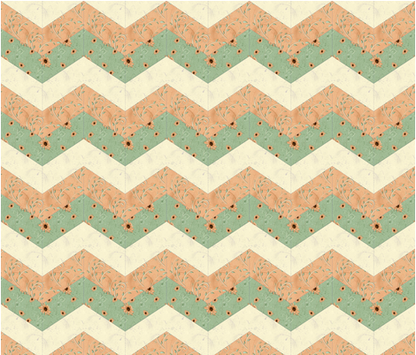chevron1_cp fabric by cindypie on Spoonflower - custom fabric