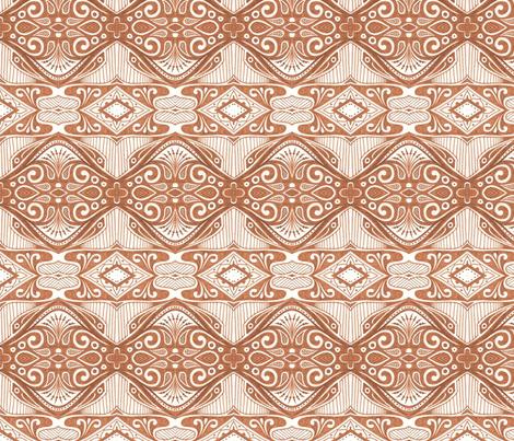 Wheaton Stripe fabric by siya on Spoonflower - custom fabric