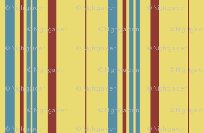 Blanket Stripes -- butter