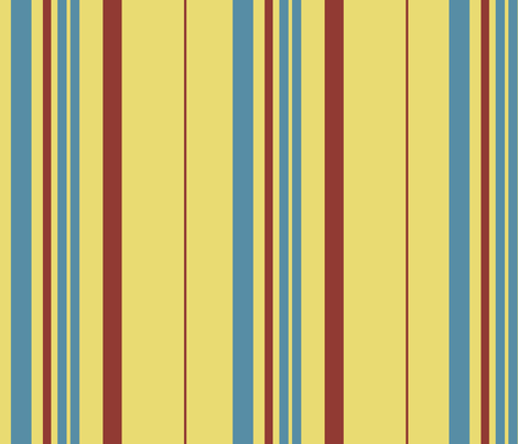 Blanket Stripes -- butter fabric by nightgarden on Spoonflower - custom fabric