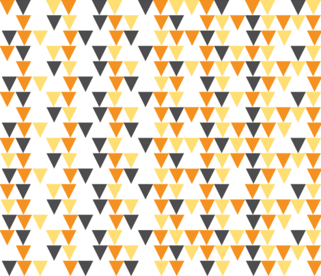 Hallow Fields banners pumpkin fabric by kennerroad on Spoonflower - custom fabric