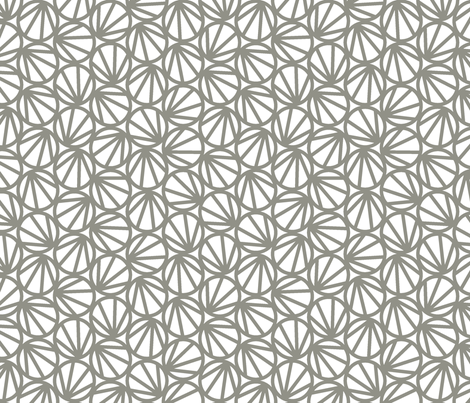 MARI - Cloudy fabric by hitomikimura on Spoonflower - custom fabric