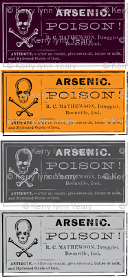 Hallow Fields poison labels