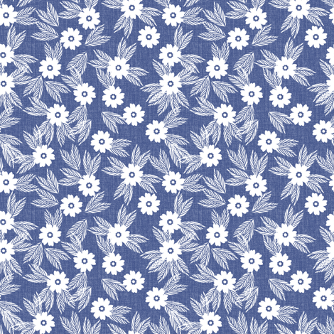 Mini Print - Ditzy Day fabric by kristopherk on Spoonflower - custom fabric
