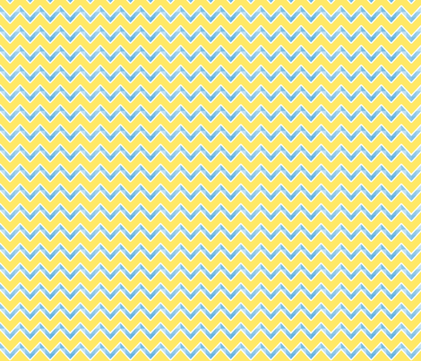 chevron_blue_and_yellow