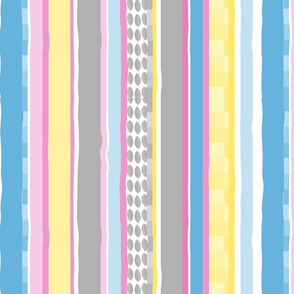 Pastel Stripes Vertical