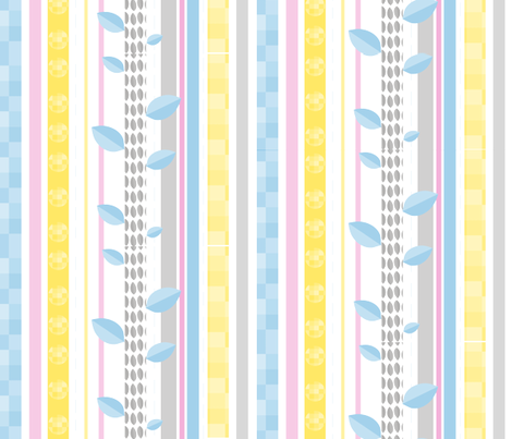 multi_stripes fabric by wendyg on Spoonflower - custom fabric