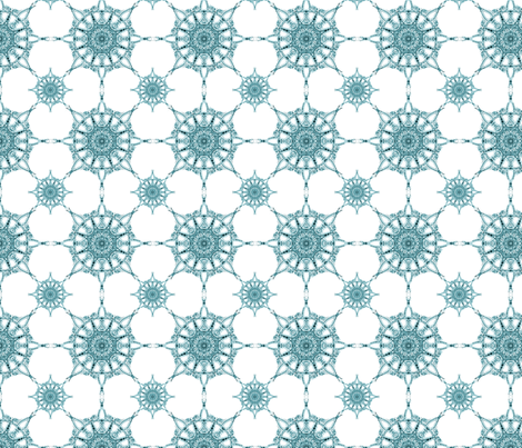 Marrakech Snowflakes fabric by autumn_street on Spoonflower - custom fabric