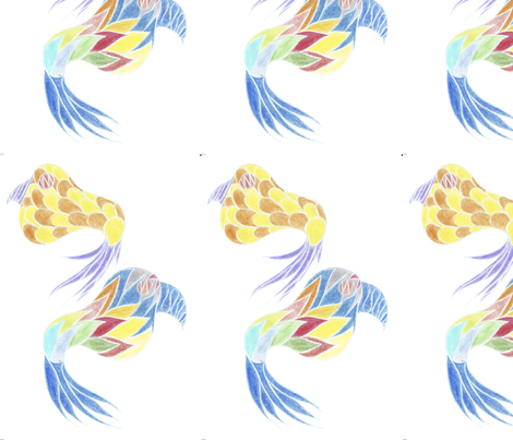 birds fabric by lissisissi on Spoonflower - custom fabric
