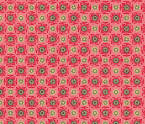 hakea pink fabric by cjldesigns on Spoonflower - custom fabric