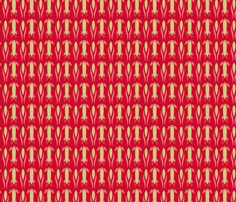 correa red fabric by cjldesigns on Spoonflower - custom fabric