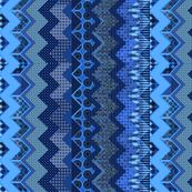 1_cheater quilt in the style of a zig-zag