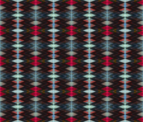 River walk zag fabric by abstracthands on Spoonflower - custom fabric