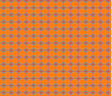 India Matching Orange fabric by carrietasman on Spoonflower - custom fabric
