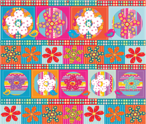 HOME SWEET HOME fabric by deeniespoonflower on Spoonflower - custom fabric