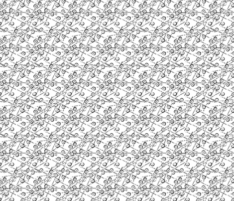 typewriter fabric by alised on Spoonflower - custom fabric
