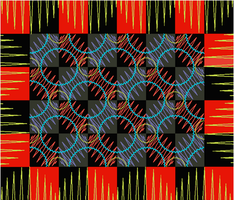 ZippityZigZag fabric by catail_designs on Spoonflower - custom fabric