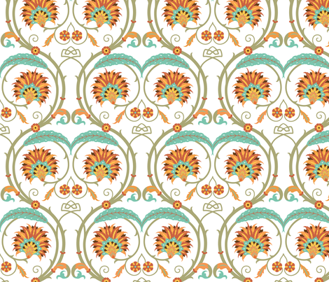 Serpentine 852a fabric by muhlenkott on Spoonflower - custom fabric