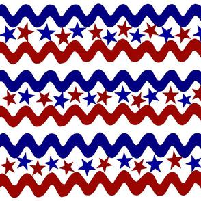 AMERICAN STARS N STRIPES ZIG-ZAG