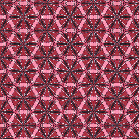 Parvati's Honeycomb fabric by siya on Spoonflower - custom fabric