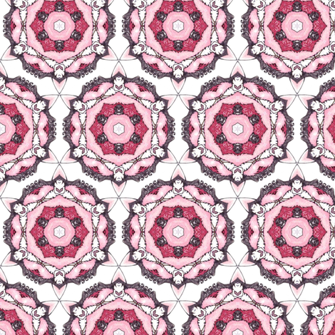 Parvati's Wheels fabric by siya on Spoonflower - custom fabric