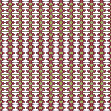 Rosalie's Spindles fabric by siya on Spoonflower - custom fabric