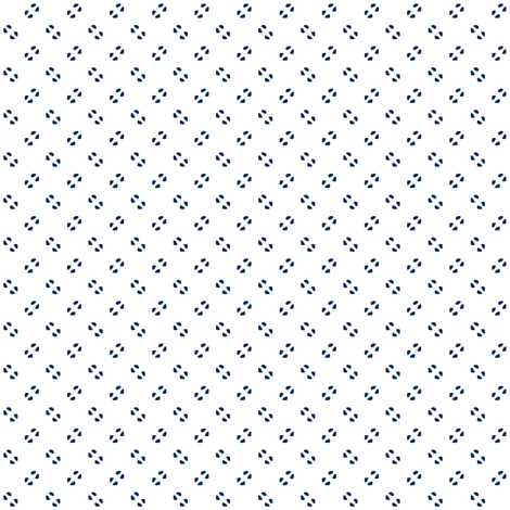 Simple speckles in navy on white fabric by bargello_stripes on Spoonflower - custom fabric