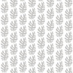 Funky Leaf (dove grey)