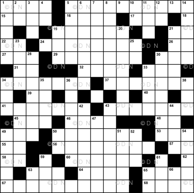 Angry Geek Crossword
