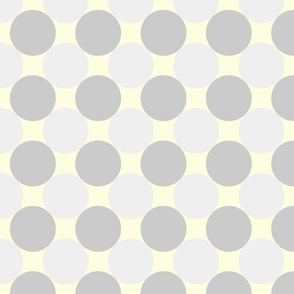 circles grey yellow