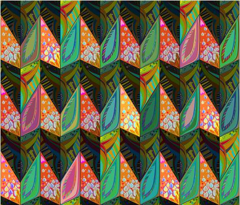 Bird_of_paradise fabric by gavanna on Spoonflower - custom fabric