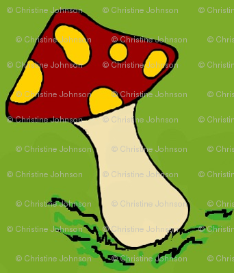 A happy gnome  / mushrooms #2